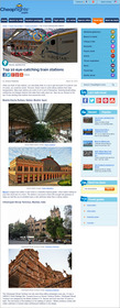 Cheapflights.com top 10 eye-catching train stations around the world