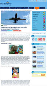 Cheapflights.ca Top 10 Ways to Make Travel Rewards Programs Go the Distance, loyalty programs