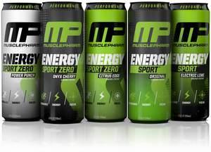 MusclePharm Energy Sport and MusclePharm Energy Sport Zero