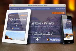 Rosemont Media - Medical Website Design for Eye Surgeons
