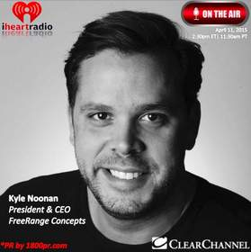 FreeRange Concepts, Kyle Noonan, Entertainment, Restaurants, 1800pr