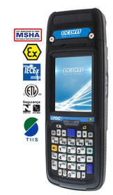 World's first MSHA certified Handheld Computer i.roc Ci70 -Ex enables paradigm shift in mining