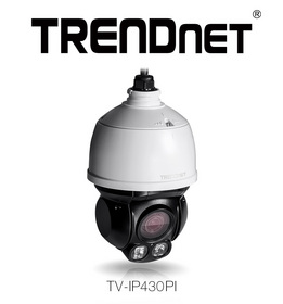 TRENDnet Demonstrates Compact Two Megapixel Endless PTZ Camera
