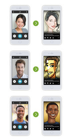 Fiverr Faces: Before and After