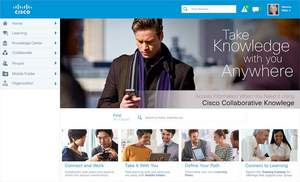 Cisco Collaborative Knowledge Homepage