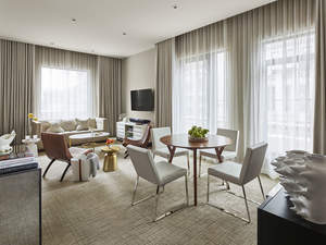 The new Terrace Premier Suite at the Quin Hotel in NYC.