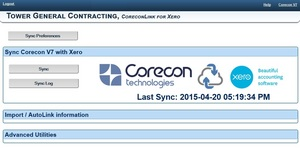 Corecon Technologies now offers data integration with Corecon V7 and Xero cloud-based accounting and payroll software.