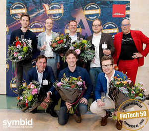 Symbid collects the Dutch FinTech Award for SME Finance