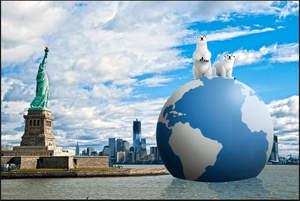120' Mega Globe - ameGLOBE: Tiger & Dylan X Save Our Globe
