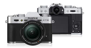 Fujifilm X-T10 new compact, interchangeable lens digital camera available for pre-order now at Adora
