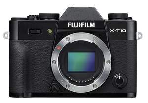 Fujifilm X-T10 compact, interchangeable lens digital camera, in black, available now for pre-order a