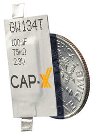 CAP-XX Launches 0.6mm Thinline Supercapacitors for Designing Wearable, Ultra-Portable and Connected IoT Devices