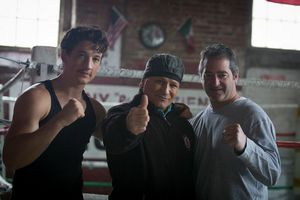 Image: Miles Teller, Vinny Paz and Chad A. Verdi