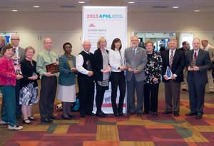 2015 APHL award winners