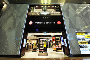DFS Group, the world's leading luxury travel retailer, opens spectacular new wines and spirits flagship duplex store – the first of its kind in the world.
