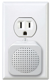 Electrical outlet with Wi-Fi device plug
