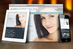 Responsive Website Launched by Beverly Hills Plastic Surgeon