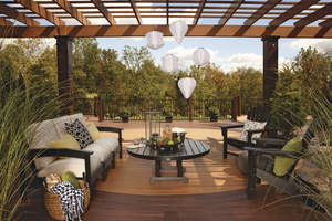 outdoor decor and deck furniture