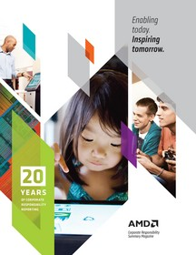 AMD 20th Anniversary Corporate Responsibility Report