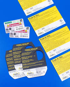 Nameplates For Industry (NFi) Serial Number Labels