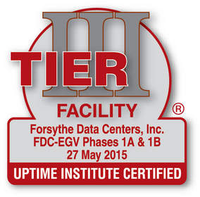 Forsythe Data Centers Earns Prestigious Tier III Certification of Constructed Facility From Uptime Institute