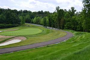 Porous Pave: 225,000 Square Feet Poured for a Golf Cart Path