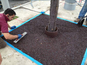 Porous Pave: Sustainable, Slip-resistant, Easy Maintenance Alternative to Metal Tree Grates
