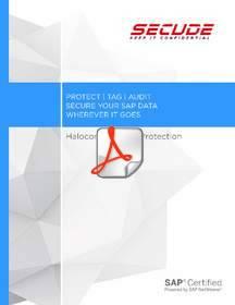 sap, sap security, halocore, secude, data security, securing sap data