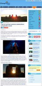 Cheapflights.com Top 10 Summer Solstice Celebrations around the World