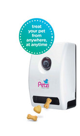 Petzi Treat Cam lets you see, speak, snap and treat your pet at any time from anywhere