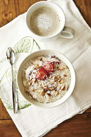 Strawberries 'n Cream Oatmeal