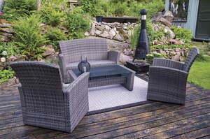 Deck lawn furniture