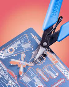 he Xuron(R) Model 9180ET Professional Photo-Etch Scissor