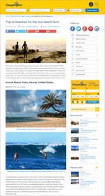 Cheapflights.ca Top 10 Beaches for the Non Beach Bum