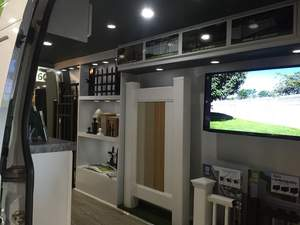 Inside of ActiveYards Mobile Showroom