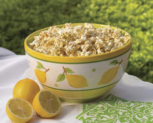 Glazed Lemon and Poppy Seed Popcorn