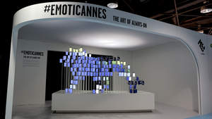 #EmotiCannes can be visited in the MEC PALAIS CABANA, Rotonde Lerins Building