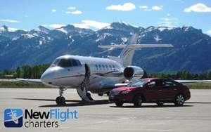 Jackson Hole Private Jet Charter - New Flight Charters