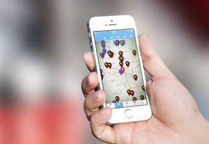 HealthiestYou app shows health-related providers in your area.