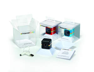 HLP Klearfold package for Polaroid Cube