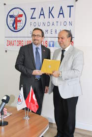 Mr. John R. Bass expressed appreciation for Mr. Halil Demir's efforts in helping Syrian refugees.