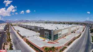 TWC Construction, Inc. has completed Prologis Las Vegas City Center #19's shell building and surrounding site improvements. The 464,200 square foot building, which sits on 27 acres of land in North Las Vegas, is the largest speculative project of its type built in nearly a decade.