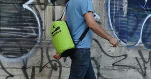 This daypack is also a washing machine!