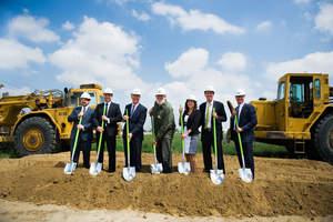 Groundbreaking ceremony for Goodman Logistics Center Eastvale.