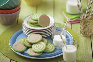 Fruity Cereal Pinwheel Cookies