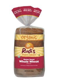 Rudi's Organic Bakery(R) Honey Sweet Whole Wheat Bread
