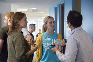 Attendees at Yello's recent Open House