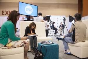 Blue Nation Review conducting interviews at Netroots Nation, Phoenix Arizona, July 17 2015