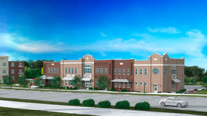 Plans for new Charlotte Metro Credit Union Matthews Branch