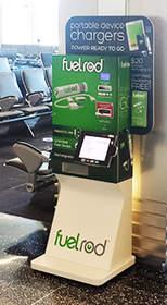 "FuelRod ""SwapBox"" self-serve kiosk"
